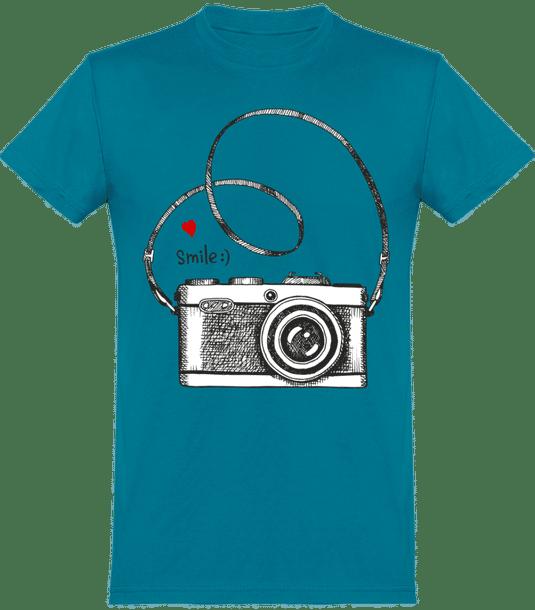 """T-Shirt """"Smile"""" (Plusieurs coloris)"""